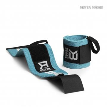 Better Bodies Elastic Wrist Wraps Blue
