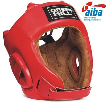 Adidas AIBA Approved Boxing Headguard Red