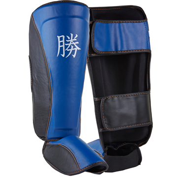 Fit4fight Shin Pad Blue/Black