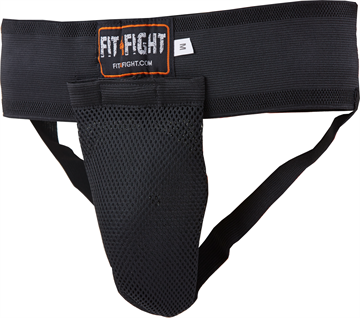 Fit4fight Groin Guard Black