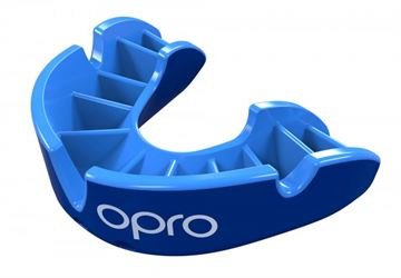 Opro Silver Generation 3 Mouth guard Blue
