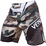 Venum Fightshorts Camo Hero, Green/Brown