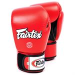 Fairtex BGV1 Tight Fit Sparring Gloves, Red