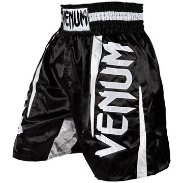 Venum Elite Boxing Shorts - Hvid/Sort