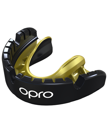 Opro Gold Ortho Mouthguard Black Pearl