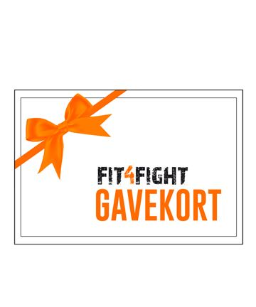 Gift certificate of 50 EURO to FIT4FIGHT.DK