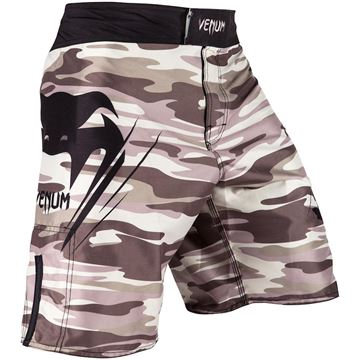 Venum Wave Camo Fightshorts - Brown