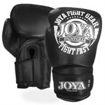 Joya Kickboxing Gloves Leather FIGHT FAST, Black