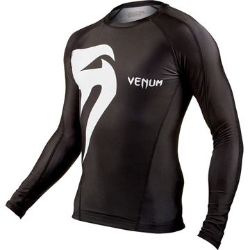 Venum Original Giant Rashguard Long Sleeves Jungle Camo Black
